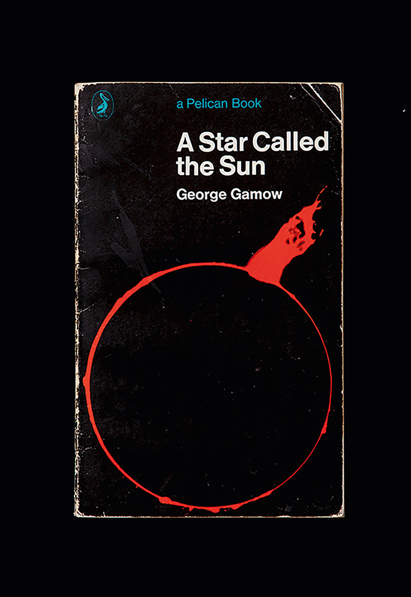 Front cover of George Gamow, *A Star Called the Sun* (Australia: A Pelican Book, Penguin, 1964). Reproduction photographer: Andrew Curtis.