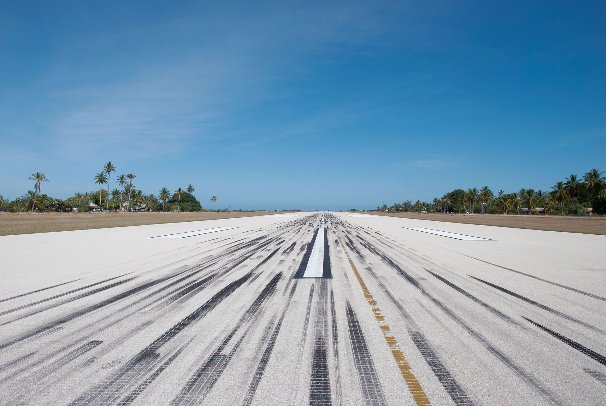 Nicholas Mangan, Tarmac at Nauru International Airport, 2009.